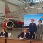 """Авиакомпания """"Азимут"""" намеревается увеличить парк еще на 10 Superjet 100 в течение пяти лет"""