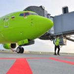 S7 Airlines в июне на ВВЛ перевезла почти на четверть больше пассажиров, чем до кризиса