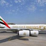 Самолеты авиакомпании Emirates получили специальную ливрею в честь юбилея ОАЭ