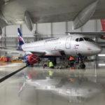 """ТОиР-провайдер группы """"Аэрофлот"""" расширил возможности по техобслуживанию самолетов Superjet 100"""